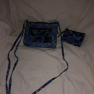 Stephanie Dawn crossbody purse w/ID holder
